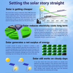 Setting the Solar Story Straight – An Infographic from PV-Magazine