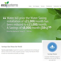 EcoSystems Uses Leak Detection & Retrofits Lower Water Bills