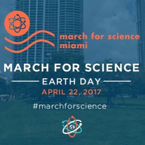 March for Science Miami on April 22 from 11:00 am – 4:00 pm