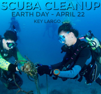 Celebrate Earth Day with a SCUBA Cleanup