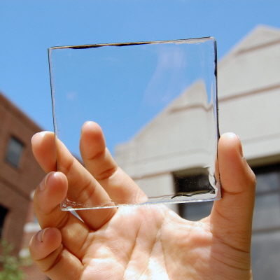 Solar Glass + Solar Rooftops = 100% Electrical Power