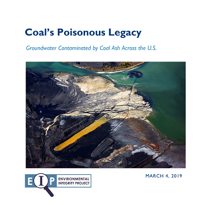 91% of U.S. Coal Plants Have Unsafe Levels of Coal Ash Contaminants in Groundwater