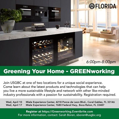 Greening Your Home – a USGBC GREENWorking Event