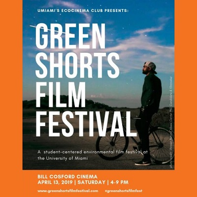 April 13: Green Shorts Film Festival @ University of Miami
