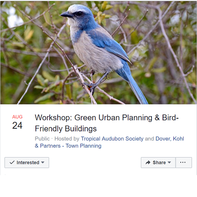August 24: Green Urban Planning & Bird-Friendly Buildings