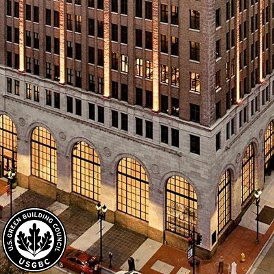 August 25 LEED Case Study: Barnett Tower Historical Building